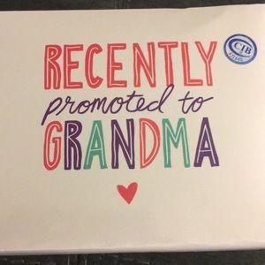 """""""Recently Promoted to Grandma"""" Coffee Mug"""